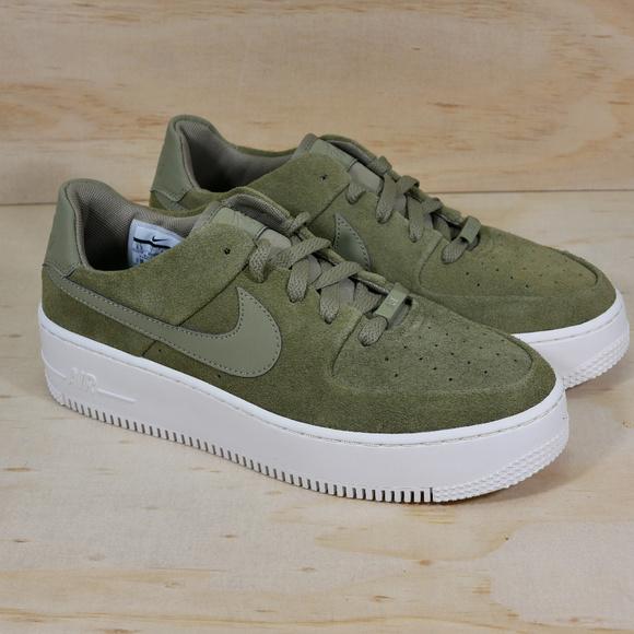 49089c730f5b nike Shoes | New Air Force 1 Sage Low Green Platform | Poshmark